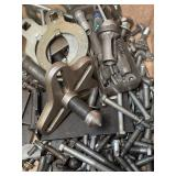 Snap on pulley puller and assorted bolts for