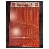 Black hawk hand tools wrench rack board