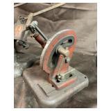 Heavy duty stone dressing stand valve seat