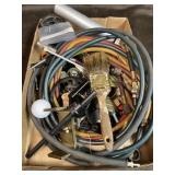 Assorted hardware lot and coolant hoses