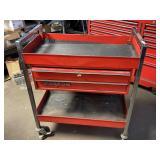 Snap-On roll cart w/key 30w36t16d needs latch on