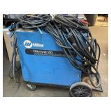 Miller wire feed welder automatic 200 w/ leads