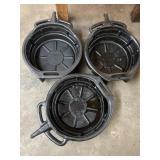 Oil catch pans