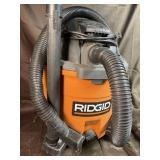Rigid wet dry vac 12 gallon 5.0 hp