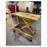 """Vestil  Steel Lift Cart, 400 lbs, 40"""" L, 20"""" W,"""