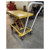 Vestil SCSC-400-2032 Steel Lift Cart, 400 lbs,