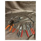 Snap ring pliers and specialty lot seal Puller