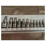 Snap on star bits 8-55 1/4-3/8 drive