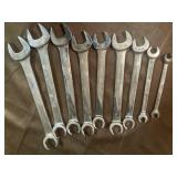Snap on line wrenches