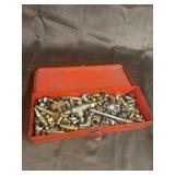 Snap on box with fittings