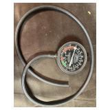 Fuel vac meter
