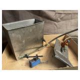 Most spray coolant generator box and hose