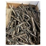 Large lot of drill bits