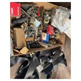 Seat belts and fittings lot