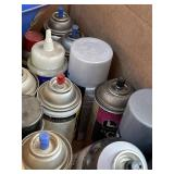 Assorted lubricants lot