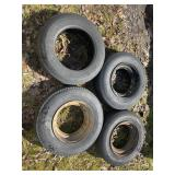 Mobile home tires 7-14.5
