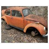 VW parts vehicle no title