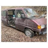 92 VW Van Parts Vehicle and contents  No Title