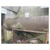 Oil tank on stand empty