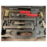 Petrol engine v8 setting Locking tool kit for