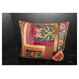 Hand Stitched  Moroccan Pillow