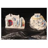 Vintage Hand Made Clay of Houses