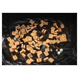 Vintage Mahjong Tile Game