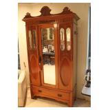 Antique Teak Wood Armorie Cabinet