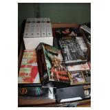 lot of vcr tapes