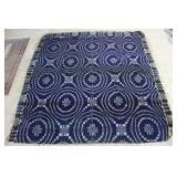 Blue & White Overshot Coverlet - Clean Overall Con