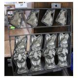 Rabbit Chocolate Mold