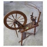 Continental(?) Spinning Wheel
