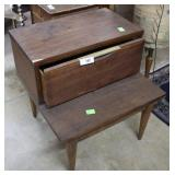 Kent Coffee The Tableau step back end table *needs