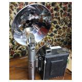 Graflex camera with Kalart synchronized range find