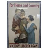Victory Liberty Loan WWI poster by Alfred Everitt