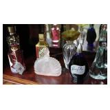 Collection 7 assorted perfume bottles incl Gurlain