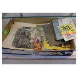 Ephemera: post cards, children