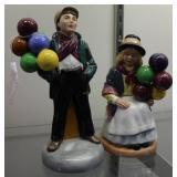 Royal Doulton Balloon Boy & Balloon Girl