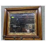 Custom three tone mirror with gold gilded design 2