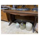"""Pedestal Library Table 56"""" x 34"""" x 30.5"""""""