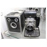 Ansco Shur Shot camera & Kodak Baitam Special came