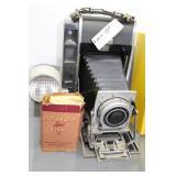Polaroid Land Camera Model 110B & Type 40 film
