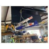 """32"""" soft body model airplane in blue and Orange pa"""