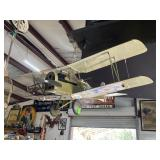 Model military style airplane