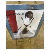 "La Roque 2005 Paris art gallery opening framed 24"""