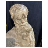 17th Century? Wood carved man with French origins