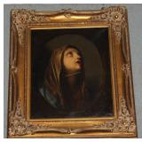 19th Century Portrait of lady in heavenly reflecti
