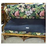 Haywood Wakefield Bamboo Couch & Armless Loveseat