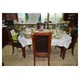 Nice contemporary dinning set w/ 3 chairs & 1