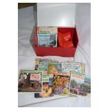 View Master in case & assorted picture stories in
